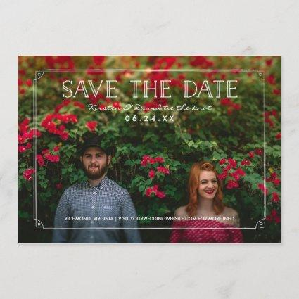 2 Photo | Romantic Doodles Wedding Save the Date