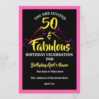 50 and fabulous save the date cards save the date cards 50 fabulous birthday party invitation filmwisefo