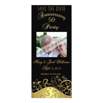50th Anniversary /Invitation Cards