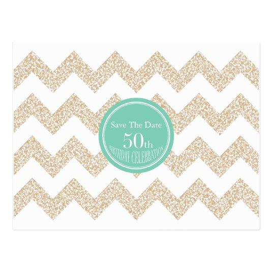 50th birthday party save the date choose color cards save the