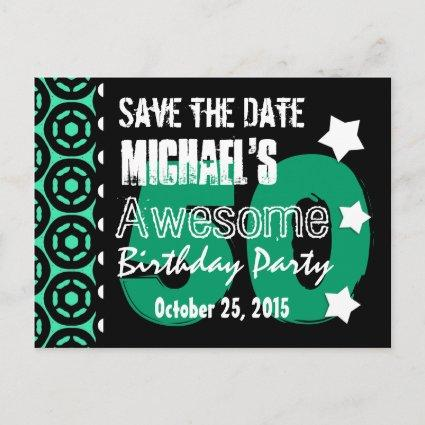 50th birthday party save the date cards save the date cards