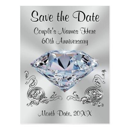 60th Anniversary  PERSONALIZED