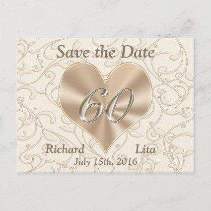 60th Anniversary Save the Date Post