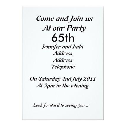 65th Birthday Save The Date Cards Save the Date Cards – 65th Birthday Invitations