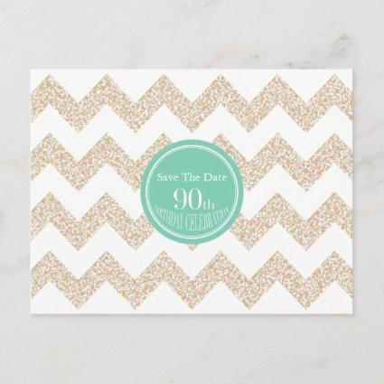 90th Birthday Party  Choose Color Announcements Cards