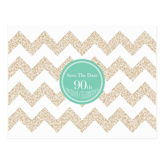 90th Birthday Party - Save the Date - Choose Color Cards