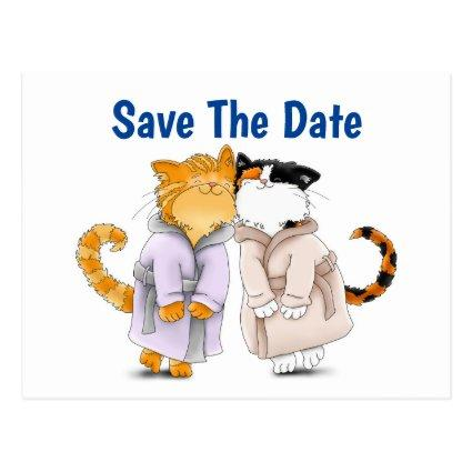 A Personalize Save The Date Cool Cats