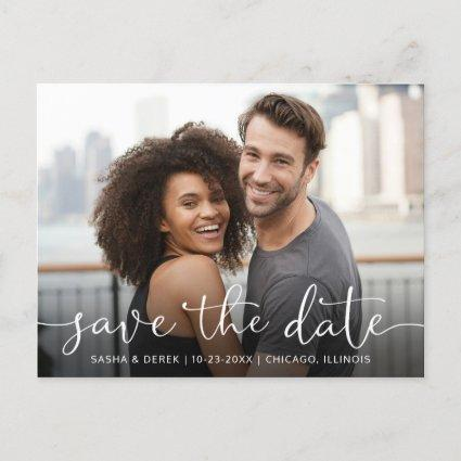 Add Your Photo Wedding Save the Date Invitation