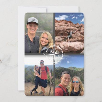 Adventure Rustic Wedding Save the Date