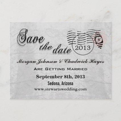 Anémoneathe  Dove Save the Date Cards