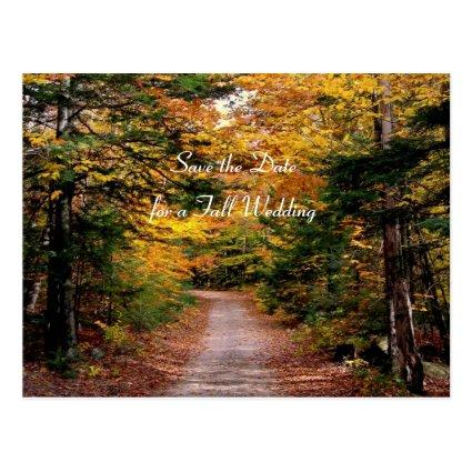Back Road Fall  Template Cards