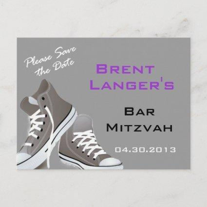 Bar Mitzvah Shoes Cards