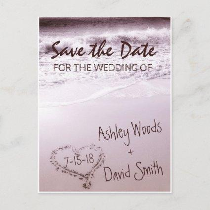 Beach Wave Save The Date Cards