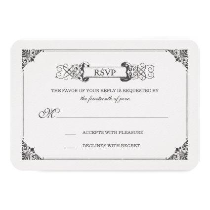 Beauty and the Beast | Fairy Tale - RSVP Cards