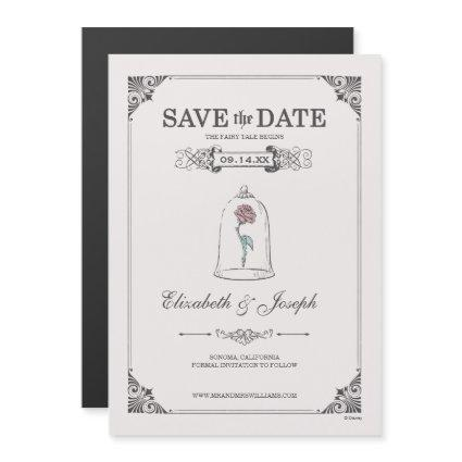 Beauty and the Beast | Fairy Tale - Save the Date Magnetic Invitation