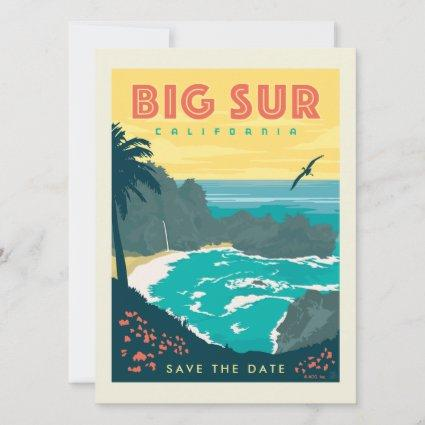 Big Sur California | Save the Date