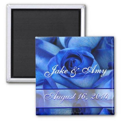 BlueRoses Couples magnet-customize Magnet