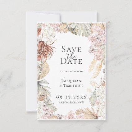 Bohemian Botanicals Save The Date Announcement