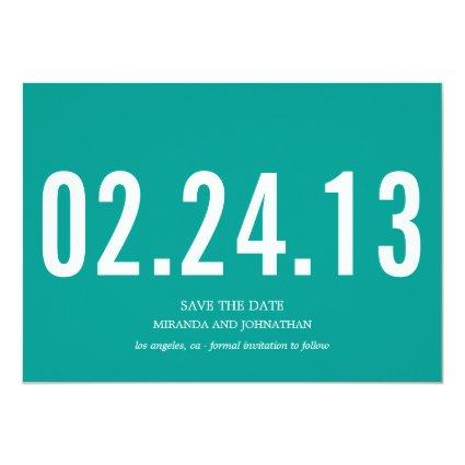 Bold Photo Save The Date Announcements