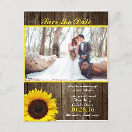 Bridal Bouquet Red Flowers/sunflower theme Announcement