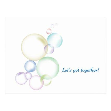 Bubbly Get-Together Cards