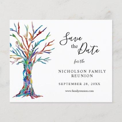 Budget Family Reunion Save The Date Announcement