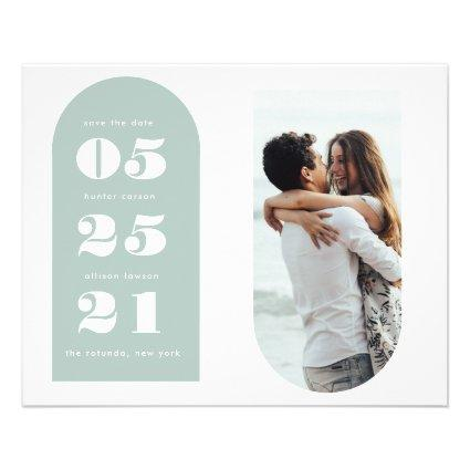 Budget Photo Save the Date Flyer
