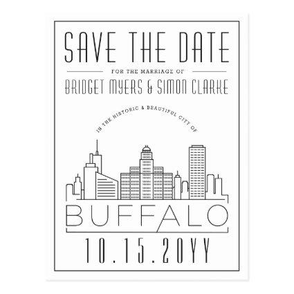 Buffalo Wedding | Stylized Skyline