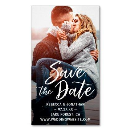 Business Card Save the Date Magnets | 25 Pack