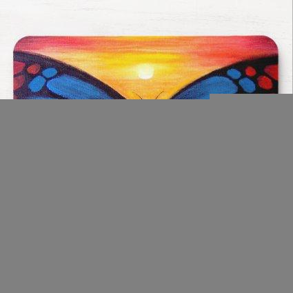 Butterfly Painting Art - Multi Mouse Pad