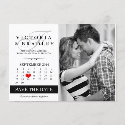 Calendar Save The Date Photo Cards