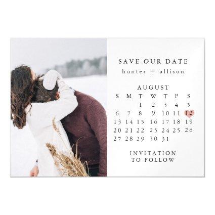 Calendar Save the Date | Magnets