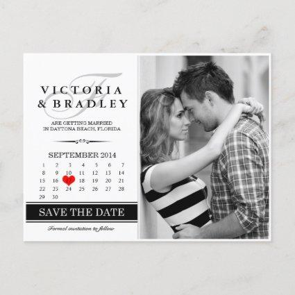 Calendar Save The Date Photo
