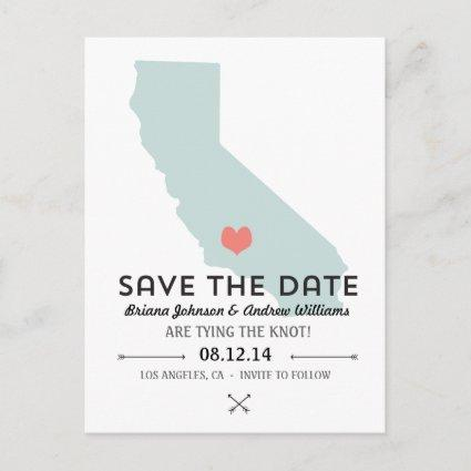 California State Save the Date Announcement