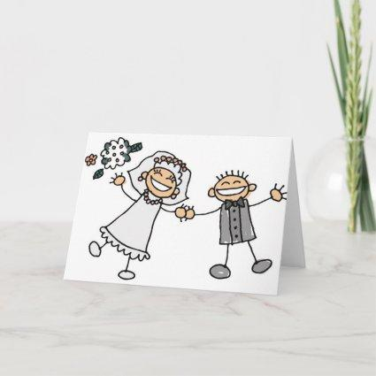 Cartoon Wedding Reception Save The Dates Announcements