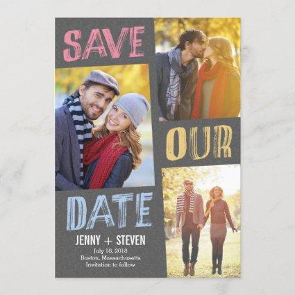 Casually Chic Save The Date Cards