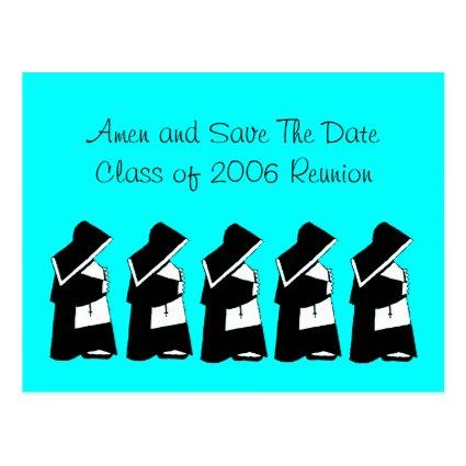 Catholic School Reunion  Nun Custom Cards