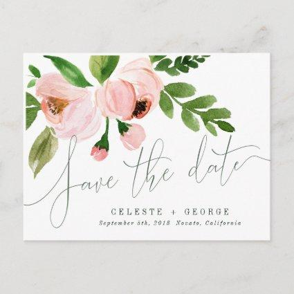 CELEBRATE WATERCOLOR SAVE THE DATE Cards