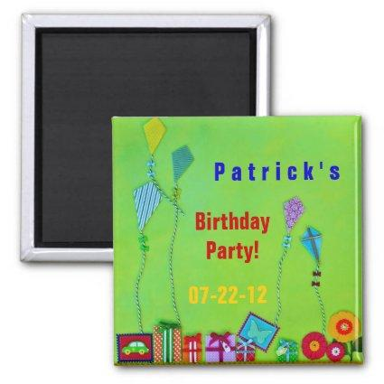 Birthday magnetic save date invitation save the date cards save celebration magnets filmwisefo