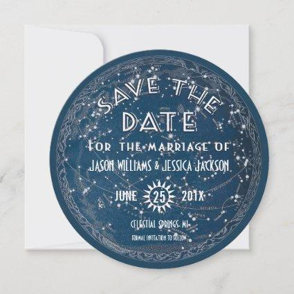 Celestial Save the Date Announcement