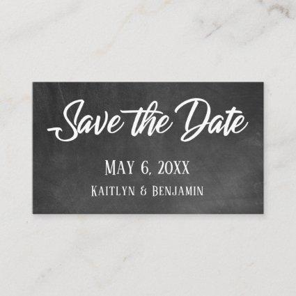 Chalkboard, Save the Date & Wedding Detail Inserts