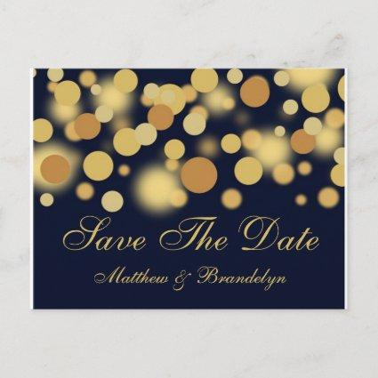Champagne Bubbles Save The Date Post