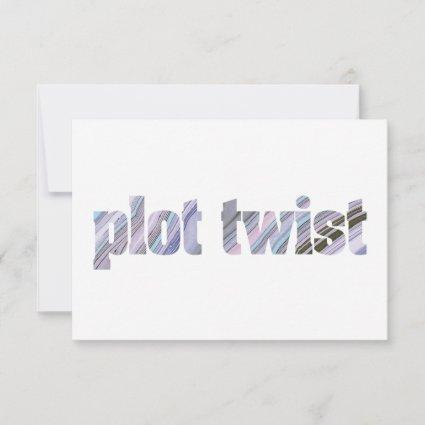 Change of Plans Postponed Chic Modern Wedding Save The Date
