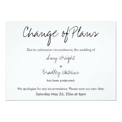 Change Wedding Date Save The Date Cards – Save the Date Cards