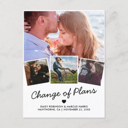 Change the Date | Postponed Photo Announcement