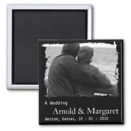 Cheap Photo Save the Date Magnets