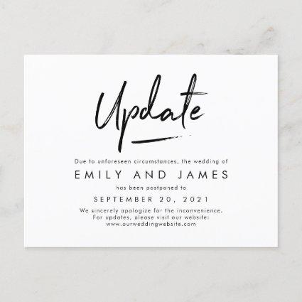 Chic Strokes EDITABLE COLOR Change The Date