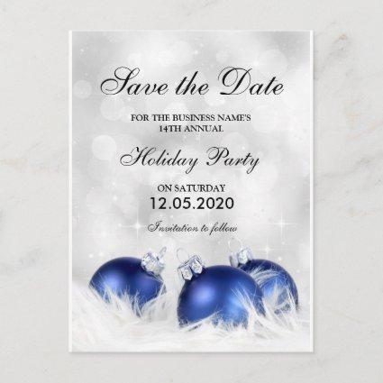 Christmas & Holiday Party Invitation Save The Date