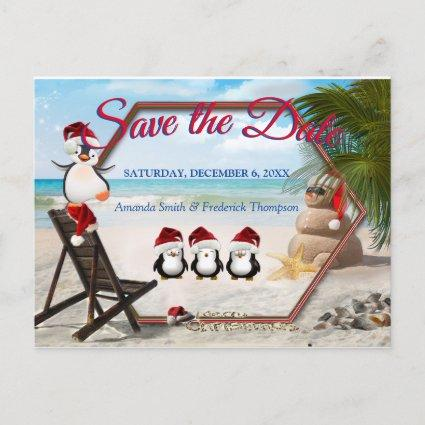Christmas Holiday Save the Date Announcement