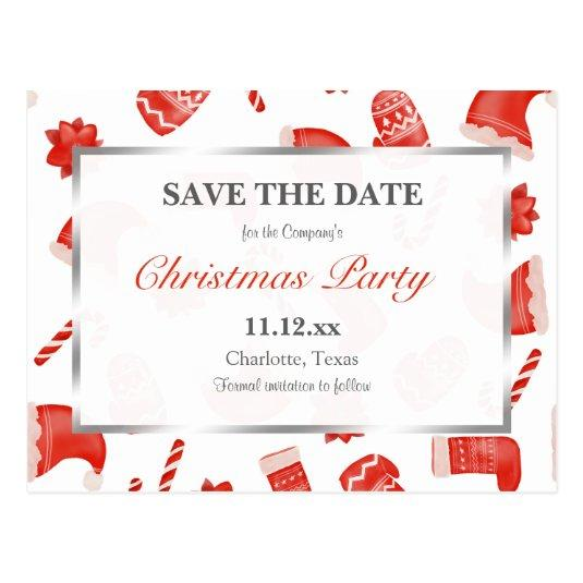Christmas Party | Christmas Cute Winter Pattern